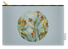 Carry-all Pouch featuring the painting Mary's Garden by Mary Wolf