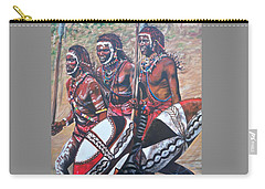 Blue Cat Productions        Masaai Warriors Carry-all Pouch