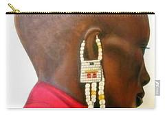 Masai Woman - Original Artwork Carry-all Pouch