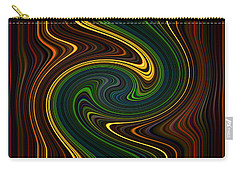 Masculine Waves Carry-all Pouch