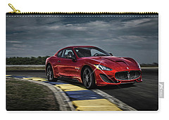 Maserati Gran Turismo G T Sport Carry-all Pouch by Movie Poster Prints