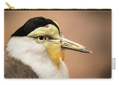 Masked Lapwing Carry-all Pouch by Don Johnson