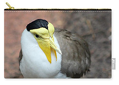 Masked Plover Pose Carry-all Pouch by Mesa Teresita