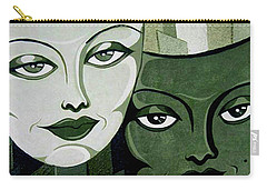 Masks Verde Carry-all Pouch