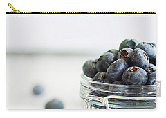 Mason Jar Full Of Blueberries Carry-all Pouch