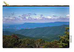 Carry-all Pouch featuring the photograph Massanutten by Penny Lisowski