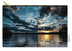 Masscupic Lake Sunset Carry-all Pouch