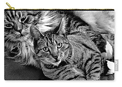 Carry-all Pouch featuring the photograph Master And Apprentice by Roger Bester