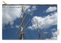 Masts Against The Sky Carry-all Pouch