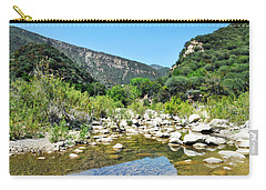 Carry-all Pouch featuring the photograph Matilija Hot Springs by Kyle Hanson