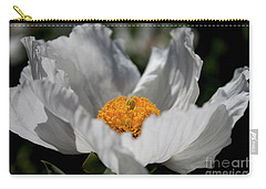 Carry-all Pouch featuring the photograph Matilija Poppy by Ivete Basso Photography