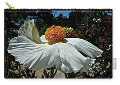Matilija Poppy Two Carry-all Pouch