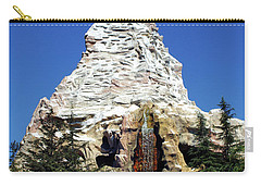 Matterhorn Disneyland Carry-all Pouch by Mariola Bitner