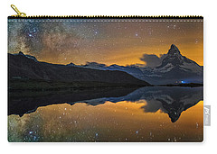 Matterhorn Milky Way Reflection Carry-all Pouch