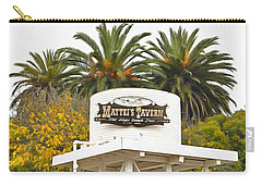 Carry-all Pouch featuring the photograph Matties Tavern Los Olivos California by Floyd Snyder