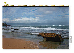 Carry-all Pouch featuring the photograph Maui Beach  by Ivete Basso Photography