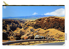 Carry-all Pouch featuring the photograph Maui Manawainui Gulch by Michael Rucker