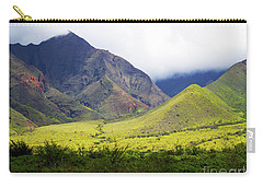 Carry-all Pouch featuring the photograph Maui Mountains by Patricia Griffin Brett