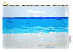 Carry-all Pouch featuring the painting Maui No Ka Oi by Fred Wilson