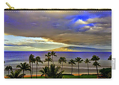Maui Sunset At Hyatt Residence Club Carry-all Pouch