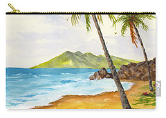 Carry-all Pouch featuring the painting Maui View by Darice Machel McGuire