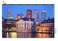 Mauritshuis Museum At Blue Hour Carry-all Pouch
