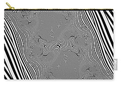 Carry-all Pouch featuring the digital art Mauruating by Andrew Kotlinski