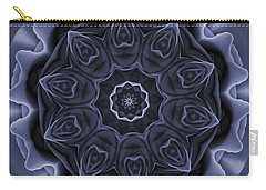 Mauve Rose Mandala Carry-all Pouch