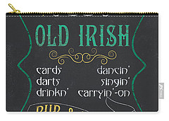 Maxey's Old Irish Pub Carry-all Pouch by Debbie DeWitt