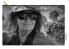 May 2017 Portrait  Carry-all Pouch by Colette V Hera Guggenheim