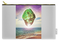 May Birthstone Emerald Carry-all Pouch