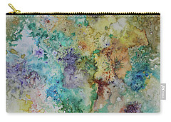 Carry-all Pouch featuring the painting May Flowers by Joanne Smoley