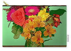 May Flowers Carry-all Pouch