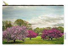 Carry-all Pouch featuring the photograph May Meadow by Jessica Jenney