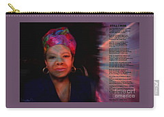 Maya Angelou Carry-all Pouch