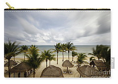 Mayan Beach Carry-all Pouch by Dennis Hedberg