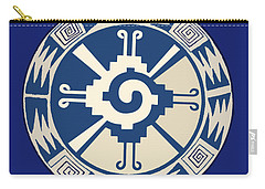 Mayan Hunab Ku Design Carry-all Pouch