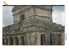 Mayan Stone Homes  Carry-all Pouch