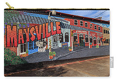 Carry-all Pouch featuring the photograph Maysville Mural by Doug Camara