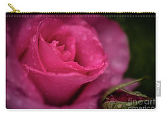 Mccartney Rose Carry-all Pouch by Judy Wolinsky