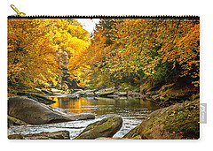 Mcconnell's Mill State Park Carry-all Pouch by Skip Tribby
