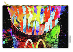 Mcdonald's French Fries Grunge Carry-all Pouch