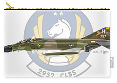 Mcdonnell Douglas F-4d Phantom II Hill Carry-all Pouch