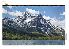 Carry-all Pouch featuring the photograph Mcgown Peak by Aaron Spong