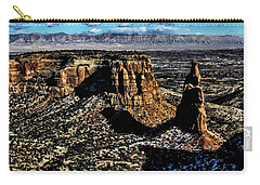 Mcinnis Canyons Tower Carry-all Pouch by Steven Parker