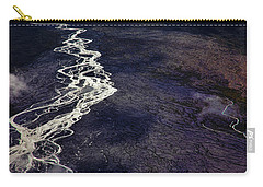 Carry-all Pouch featuring the photograph Mckinley River From The Air by Rick Berk