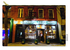 Mcsorleys At Night Carry-all Pouch by Ed Weidman