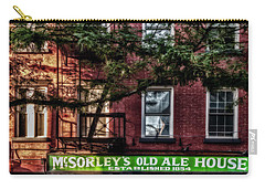 Carry-all Pouch featuring the photograph Mcsorley's Old Ale House Nyc by Susan Candelario