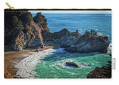 Mcway Falls Julia Pfieffer State Park Carry-all Pouch