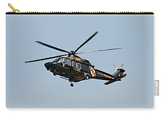Md State Police Helicopter Carry-all Pouch by Robert Banach